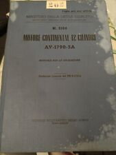MOTORE CONTINENTAL 12 CILINDRI AV-1790-5A
