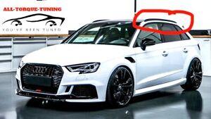 For Audi A3 S3 RS3 2013 2014 2015 2018 BLACK Roof Rails Rack Bars Sportback 8V