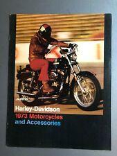 1973 Harley Davidson SS-350 Bike Vintage Advertisement Print Ad J397