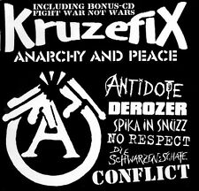 KRUZEFIX #17 FIGHT WAR NOT WARS Anarchy and Peace CD (2003 Aggressive Noise)