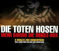 Die Toten Hosen/Mehr Davon! Die Single-Box 1996-2004 (2013) neu u. ovp 8/MCD