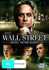 Wall Street - Money Never Sleeps (DVD, 2010) R4 NEW Michael Douglas,Shia Labeouf