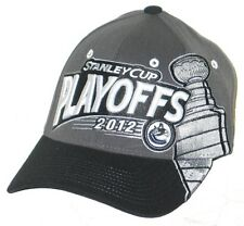 VANCOUVER CANUCKS NHL HOCKEY 2012 PLAYOFFS FLEX FIT FITTED HAT/CAP M/L NEW