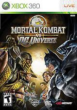 New: Mortal Kombat vs. DC Universe - Xbox 360: Xbox 360,Xbox 360 Video Game