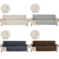 "78"" Anti-Slip Sofa Cover for Extra-Wide Couc Slipcover Oversize Double Diamond"