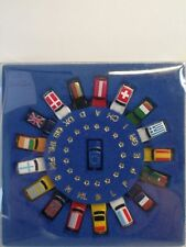 Rover Austin MINI EURO-Set 18 Autos Flags Limited Edition M1:160 Industriedepot_