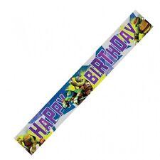 TEENAGE MUTANT NINJA TURTLES -  FOIL BANNER, 4.5m.   birthday party