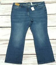 BNWT Next Mid Rise Bootcut Stretch Jeans Size 26 R Plus Size W46