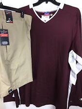 Roundtree & York Shorts 44x8 / Champion Shirt XXL Lot New Men's