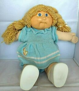Vintage CABBAGE PATCH DOLL 1984 With Full Outfit Inc Shoes SIGNED Xavier Roberts