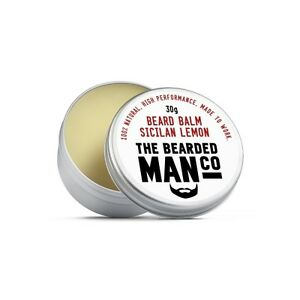 Beard Balm 30g SICILIAN LEMON Conditioner Male Grooming Hold Moisturiser Groomed