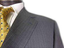 $1195 Latham Thomas Grey Pinstripe Custom made Suit size 41 A104