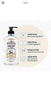 J.R. WATKINS Liquid Hand Soap Coconut 11oz - New