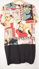 Vintage Dress Womens 10 Large Art Deco Abstract