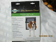 PetSafe Pet Screen Door For Small Dogs/Cats P1-ZB-11 1-15 Pound New