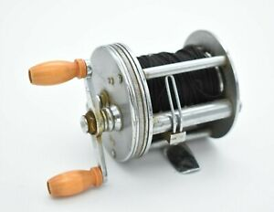 Vintage Jaleoxe J. A. Coxe Small Level Wind Fishing Reel Model No 60
