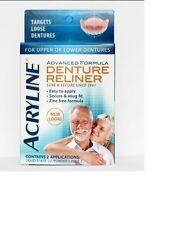 Denture Reliner Reline Kit Advanced Formula Loose Dentures FREE SHIPPING