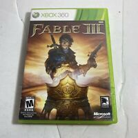 Fable 3 III Microsoft Xbox 360, 2010 FREE SHIPPING Complete Video Game