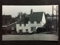 RP Vintage Postcard - Northamptonshire #B11, Weedon Road, Nether Heyford