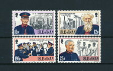 Isle of Man  240-3 MNH, Salvation Army, 1983