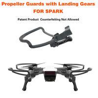 4x2in1 Propeller Guards+Foldable Landing Gear Legs kit for DJI Spark Drone~OJ