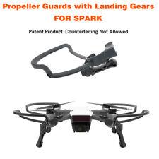 4 Pcs 2in1 Propeller Guards+Foldable Landing Gear Legs kit for DJI Spark DroneSC