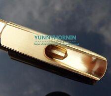 Genuine metal Baritone Saxophone Mouthpiece BRAND NEW Gold Plated Bari Sax MPC