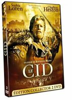 LE CID - EDITION COLLECTOR 2 DVD - LOREN - HESTON - DVD - VF - BONUS