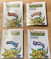 Con Exclusive IDW Teenage Mutant Ninja Turtles Enamel Pin Set - NEW