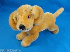 "❤ Mini STEIFF BAZI Dachshund Puppy Dog Moveable Head 4160/10 1968-75 4"" Mohair ❤"