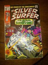 Silver Surfer #9 The FLYING DUTCHMAN & MEPHISTO! Marvel Fn+ 6.5 1969