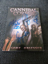 CANNIBAL CORPSE signed Autogramme auf DVD-Cover InPerson LOOK