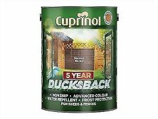 Cuprinol Ducksback 5 Year Waterproof for Sheds and Fences 5l Harvest Brown