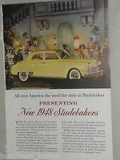 1948 Studebaker ad, Studebaker Commander sedan