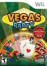 Vegas Party Wii Brand New Fast Shipping