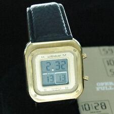Longines Wittnauer Quartz LCD ESA934.912 Watch circa 1980 vintage, manual
