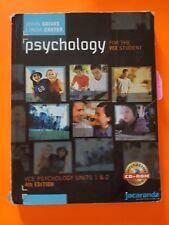 Psychology for the VCE Student  Units 1 & 2 John Grivas & Linda Carter