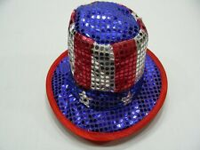 LOT OF 6 - STARS & STRIPES - AMERICANA - KID'S/TODDLER 46CM SIZE NOVELTY CAP HAT