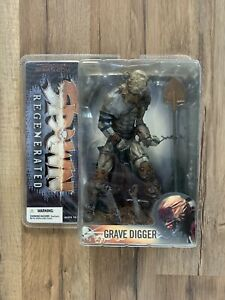Spawn Regenerated Grave Digger Series 28 McFarlane 2005 Toy Action Figure SEALED