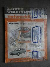 REVUE TECHNIQUE AUTOMOBILE RTA MAZDA 323 CITROEN CX 1988