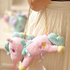 New Sanrio LSanrio Little Twin Stars Unicorn Plush Bag Coin Bag Wallet PINK Gift