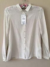 Zara Waist Length Silk Classic Tops & Shirts for Women