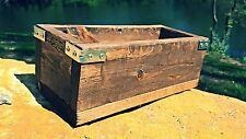 Free ship - Rustic Planter Box   industrial Planter   Wedding Center Piece