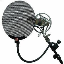 SE Electronics Metal Pop Filter Studio Vocal Microphone Screen