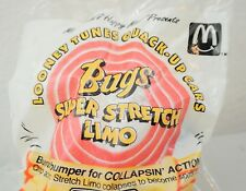 1992 McDonalds Happy Meal Toy Bugs Super Stretch Limo