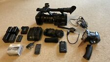 Sony HVR-Z7N PAL&NTSC HDV1080i Camcorder + sony mrc1k recorder Kit & Accessories