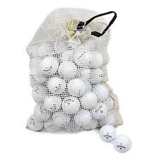 Callaway Assorted Models Recycled B/C Grade Golf Balls in Onion Mesh Bag 6 Dozen