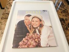 GUESS Catalog Fall 1998 - LAETITIA CASTA!