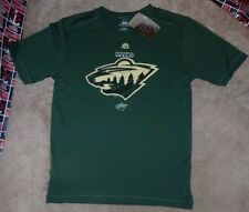 NEW NHL Minnesota Wild Ice Hockey -Coolbase T Shirt Men S Small NEW NWT