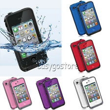 Waterproof Shockproof Dirtproof Heavy Duty Hard Case Cover for Apple iPhone 4S 4